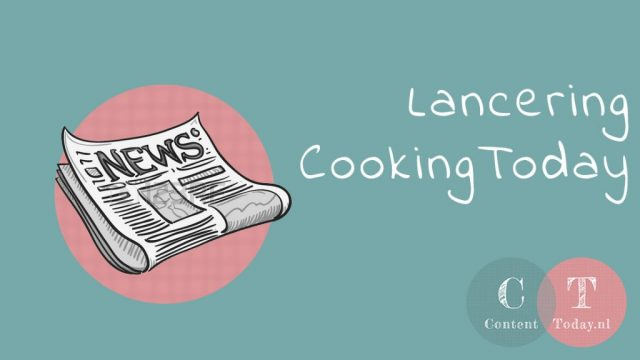 Lancering CookingToday.nl