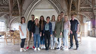 Marketing team van Exact Business Software in Metaal Kathedraal